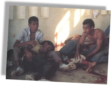 Santa Cruz massacre, November 12, 1991, Dili, East Timor