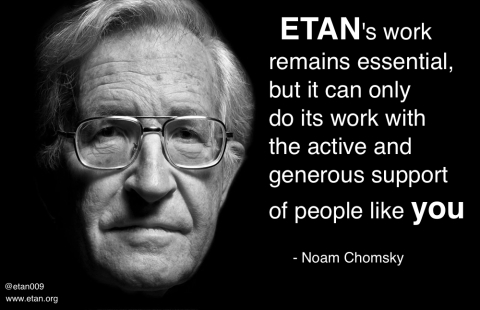 Noam Chomsky on ETAN. Donate today.